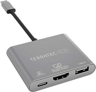 Terratec 251736USB Type C Adapter Grey