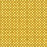 babrause® Baumwollstoff Mini Sterne Gelb Webware Meterware