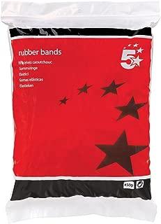 5 Star Office Rubber Bands No 19 Each 89x1 5mm Bag 0 454kg
