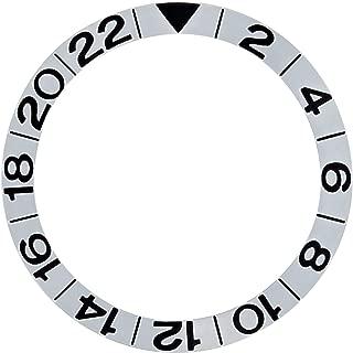 BEZEL INSERT GMT FOR OMEGA SEAMASTER 2534.50 DIVER 168.1620 CALIBRE 1128 SILVER