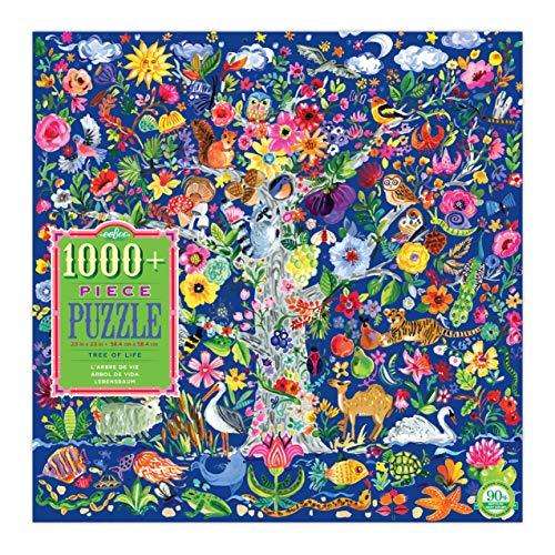 eeBoo Tree of Life Jigsaw Puzzle for Adults, 1000 Pieces