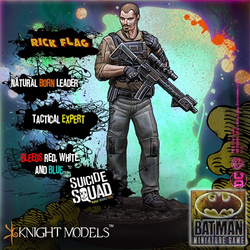 Rick Flag (Knight Models) Batman Miniature Game