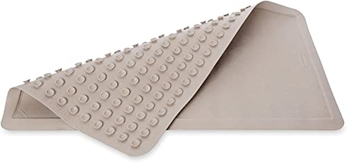 Rubbermaid Commercial Safti-Grip Shower/Bath Mat, Extra-Large, Brown Stone (1982728)
