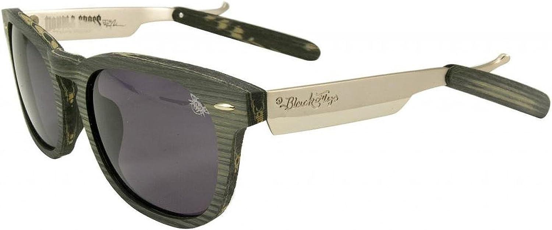 BLACK FLYS   RAZOR  Sunglasses By Double Cross in Grey Wood