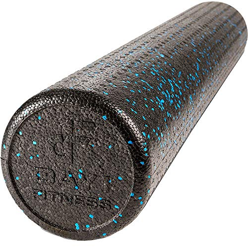 Check Out This High Density Muscle Foam Rollers by Day 1 Fitness - Sports Massage Rollers for Stretc...