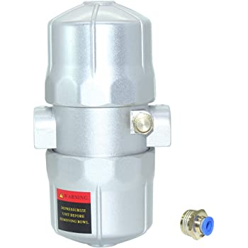 Beduan Pneumatic Auto Water Trap Valve Automatic Drain Valve for Air  Compressor Filter Compressed Fitting 1/2