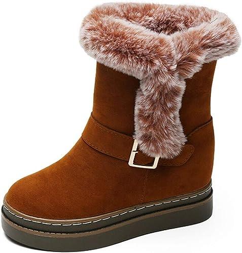 Bottes De Neige Femmes, Femmes, Nouvelles Chaussures d'hiver en Coton Décontracté épais Et Chaudes  top marque