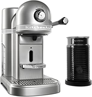 KitchenAid KES0504SR Nespresso Bundle, Sugar Pearl