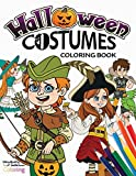 Halloween Costumes Coloring Book: A Creative Halloween Fashion Coloring Book for Kids Ages 4-8