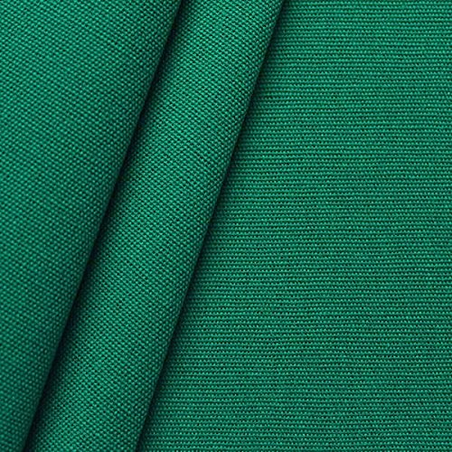 STOFFKONTOR Outdoor Stoff Markisenstoff - Outdoorstoff Meterware wasserabweisend - Sonnenschutz Stoff Blickdicht und farbecht - Klassik-Grün