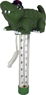 Poolmaster Floating Thermometer for Swimming Pools and Spas, Cool Gator