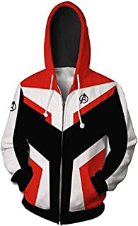 Superhero Hoodie Adult Sweatshirt Jacket Tech Hooded Superhero Zipper