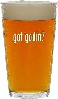 got godin? - 16oz Clear Glass Beer Pint Glass