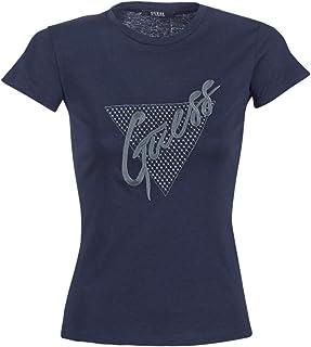 d800ba080ae13c Guess CN T-Shirt & Polo Donne Marine T-Shirt Maniche Corte