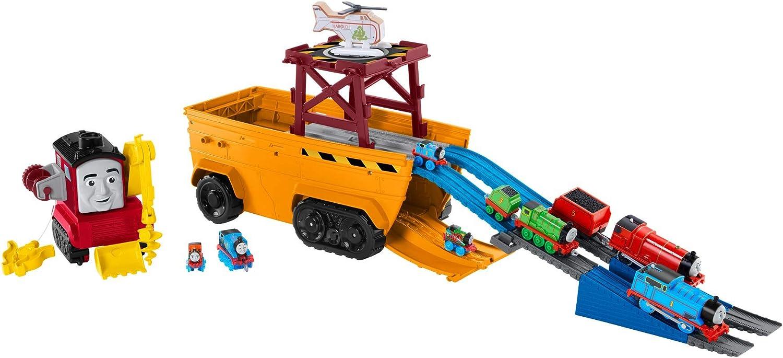 nueva gama alta exclusiva Thomas Thomas Thomas & Friends GDV38 súper Cruiser 2 en 1 Juego de vehículo y Pista Grande con Trackmaster y Motores de Tren MINIS  Envio gratis en todas las ordenes