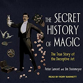 The Secret History of Magic audiobook cover art