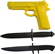 training knives and guns