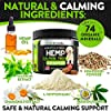 Hemp Calming Treats for Dogs - Helps Keep Your Dog Calm And Relaxed - Separation - Storms - Fireworks - Aggressive Behavior - Natural Calming Aid - Hemp Oil for Dogs - 170 Soft Chews - Made in USA #2
