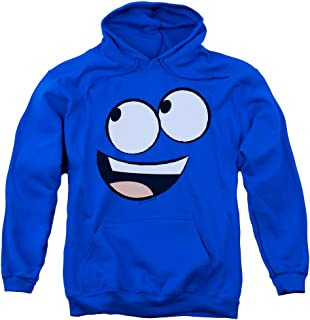 Foster's Home For Imaginary Friends Bloo Face Cartoon Network Adult Hoodie