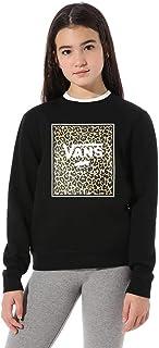 Vans Leopard Box Crew Suéter pulóver para Niñas