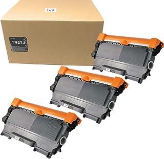 ブラザー Brother TN-27J 3本セット 互換トナーカートリッジ TN27 【対応機種】 MFC-7460DN DCP-7065DN DCP-7060D FAX-7860DW FAX-2840 HL-2270DW HL-2240D 印刷可能枚数:約2600枚(A4/5%印字時)
