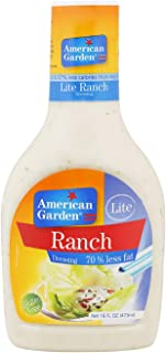 American Garden Lite Ranch Dressing - 473 ml