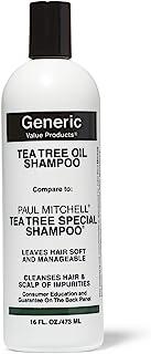Generic Value Products Tea Tree Oil Shampoo Compare to Paul Mitchell Tea Tree Special Shampoo 16 oz.