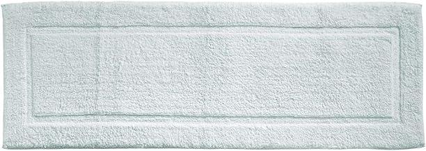mDesign Soft 100% Cotton Luxury Hotel-Style Rectangular Spa Mat Rug, Plush Water Absorbent, Decorative Border for Bathroom...