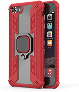 Buckle Bracket Design for iPhone 8,Iron Warrior Shockproof TPU + PC Protective Case with 360 Degree Rotation Holder (Color...