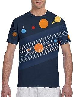 Hombres - Camisa Camisa de Manga Corta Deportiva de Hombre de Colorful Dots