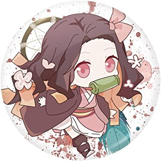 Anime Demon Slayer kimetsu no Yaiba Kamado tanjirou Metal Badge Broche Cadeau Pré N