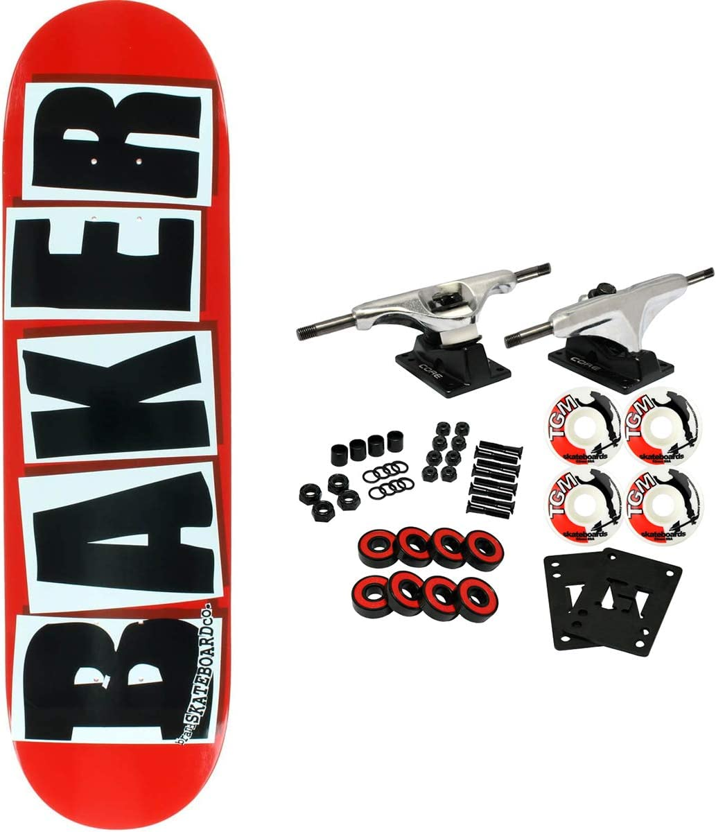 Baker Skateboard Max 78% OFF Complete Brand 8.38