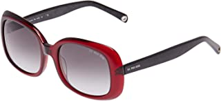 رابطة بولو الأمريكية. نظارة شمسية نسائية مستطيلة - 735 - 56-20-140 ملم