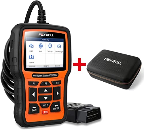 discount FOXWELL new arrival Car Full-System Diagnostic Tool NT510elite for lowest BMW with EVA Case online