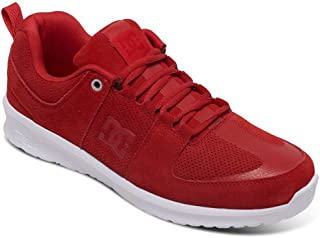 DC Men's Leather Sneakers