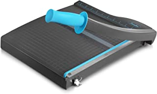 Swingline Guillotine Paper Cutter Heavy Duty, 12 Inch Paper Cutting Board with Guard Rail, Blade Lock, Cuts Up to 10 Sheet...