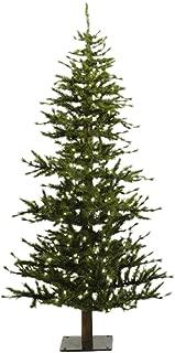 Vickerman 6' Unlit Minnesota Pine Half Artificial Christmas Tree