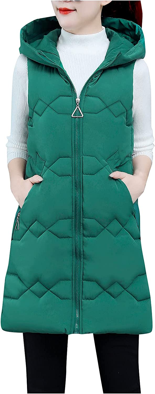 Bombasty Sweater Vest Women V Neck Oversized Hoodie Hooded Sleeveless Solid Color Short Outwear Lightweight Long Tank Tops