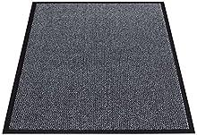 Miltex Felpudo PP, Polipropileno, Antracita, 90 x 120 cm