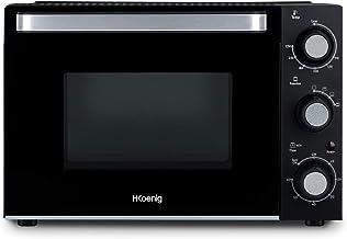 H.Koenig Mini Four 20L Electrique FO20 Posable Compact Multifonction Performant 1400W Programmable 4 modes de cuisson, 23...