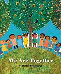 We are Together picture book cover featuring children on a hill
