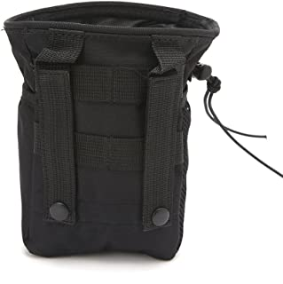 suoryisrty Outdooer Utility Bolsa Bolsa Airsoft Military Molle Belt Tactical Dump Drop Bag
