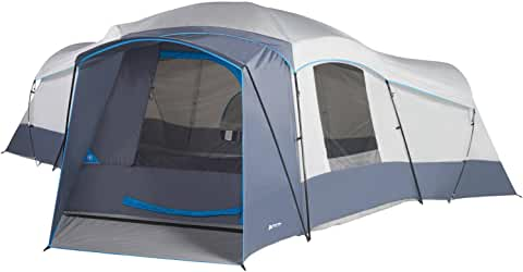 Ozark Trail 16-Person Cabin Tent with 2 Removable Room Dividers