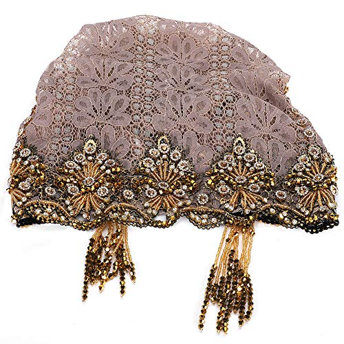 Pañuelo para la Cabeza, Gorro para Mujer Elegante, Gorro para Mujer Musulmana,...