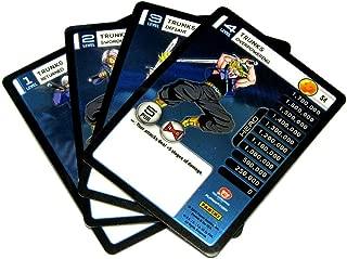 Panini Dragon Ball Z TCG 2015 Evolution Starter Set Set of 4 Trunks Personality Fixed Single Cards
