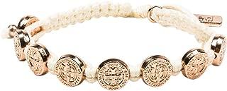 Share The Love - St. Amos Bracelet Set - Woven Religious Medals Bracelets