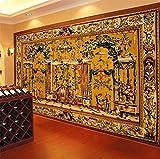 Fototapete 3D Room Wallpaper Foto 3D Wandbild Bild Alten Persischen Elefanten Tapete Für Wanddekoration Malerei 200X140Cm