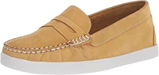 Driver Club USA Women's Leather Made in Brazil Penny Loafer Deck Shoe Boat