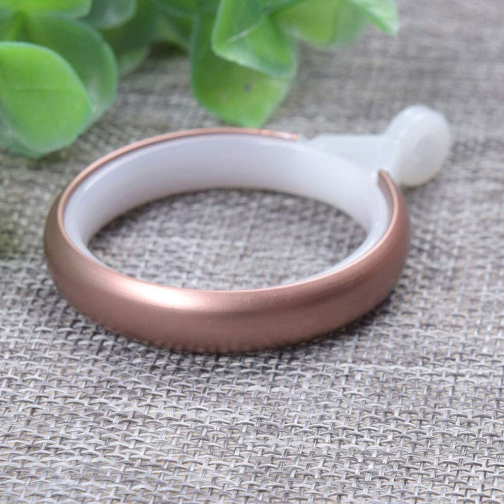 zxb-shop Curtain Eyelet Rings Plasti Limited time sale Shower Hooks Year-end annual account