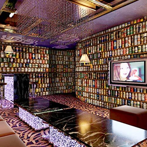 Fototapete Tapete Benutzerdefinierte Große Wandbild Füllung Bier 3D 3D Hintergrundbild 3D Stereo Ktv Persönlichkeit Bar, 350 * 245 Cm